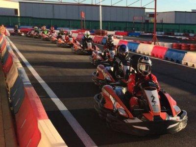Children Karting in Rivas 7-14 years old 10 min