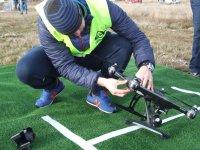 Preparando su dron
