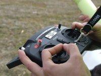Control de mandos del dron