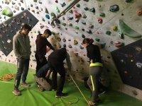 Formando a futuros escaladores en Valencia