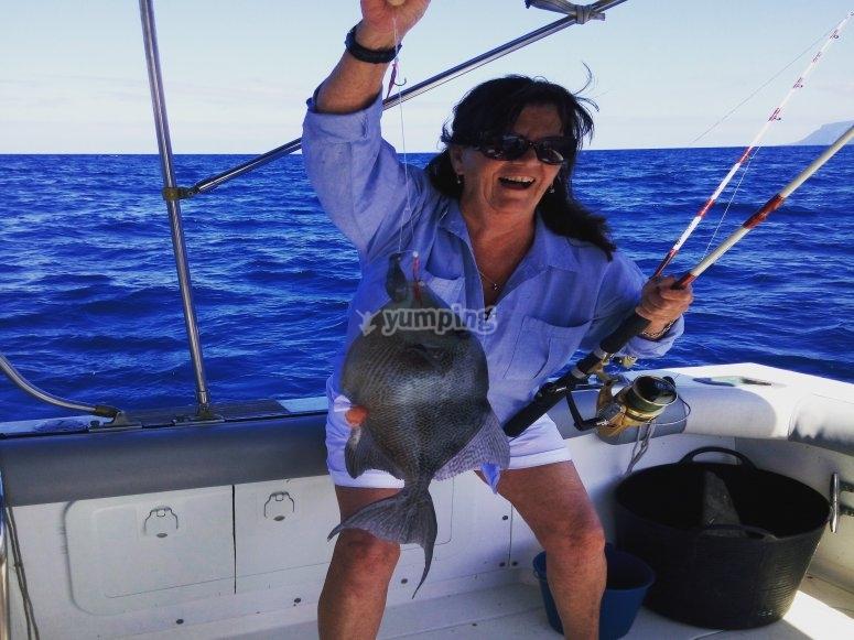 pescando en tenerife especies diferentes