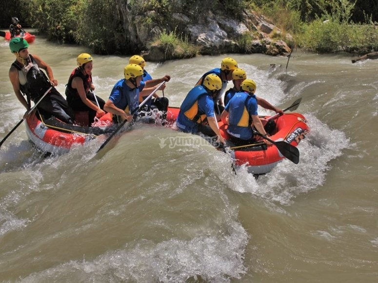 Rafting in Genil