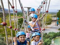 Puente tibetano para niños