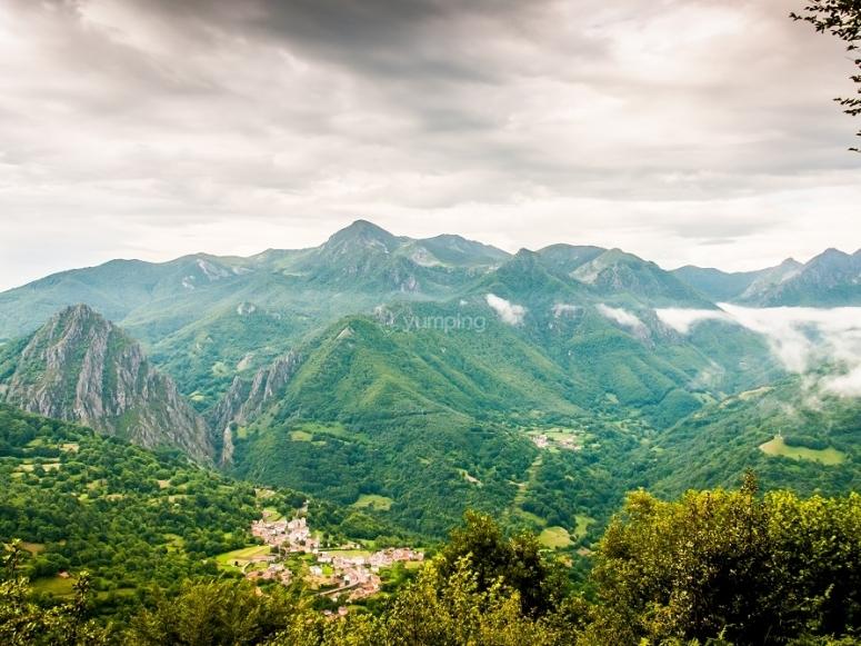 Landscapes in Picos de Europa
