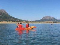 Travesía en kayak