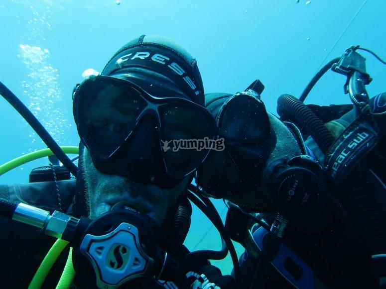 两个潜水之旅