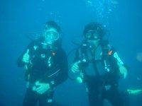 Inmersión de Buceo con equipo en Formentera