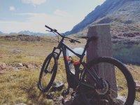 Passeggiata sulle strade asturiane in mountain bike