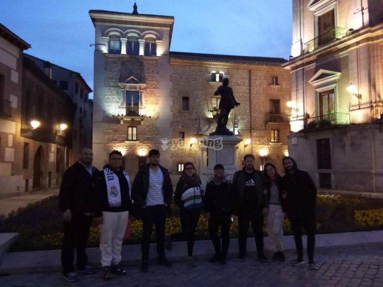 En la Plaza del antiguo Ayuntamiento