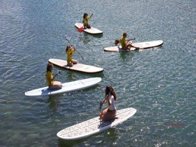 Paddle surf dal meandro dell'Ebro, tasso di bambini