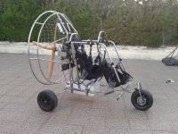 Carrito de paramotor