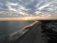Playas de Huelva al atardecer
