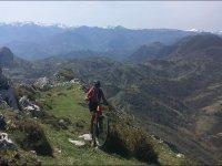 Percorso mountain bike