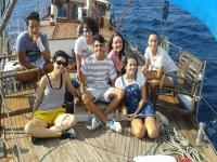 Paseo  en barco con picnic, precio niños Estepona