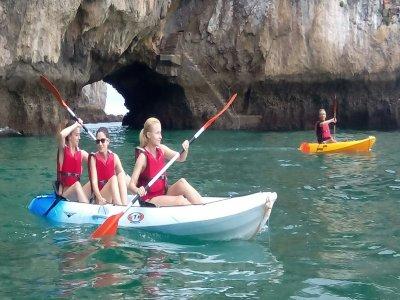 Ruta en canoa en Noja precio niños 2 horas