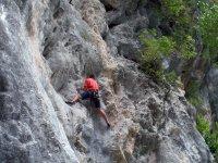Superate con la escalada