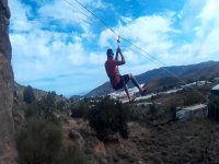 Dare with the zip line