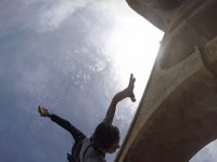 Adrenaline with the bungee jumping