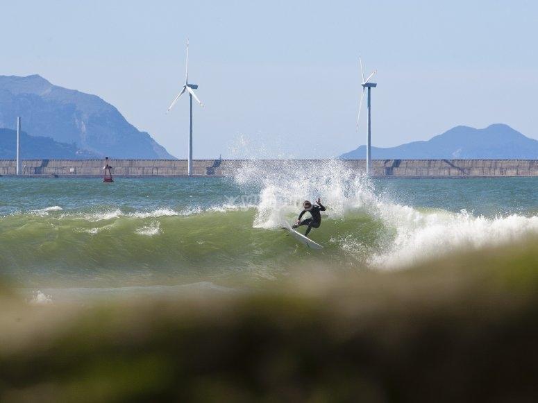 Surf en Vizcaya