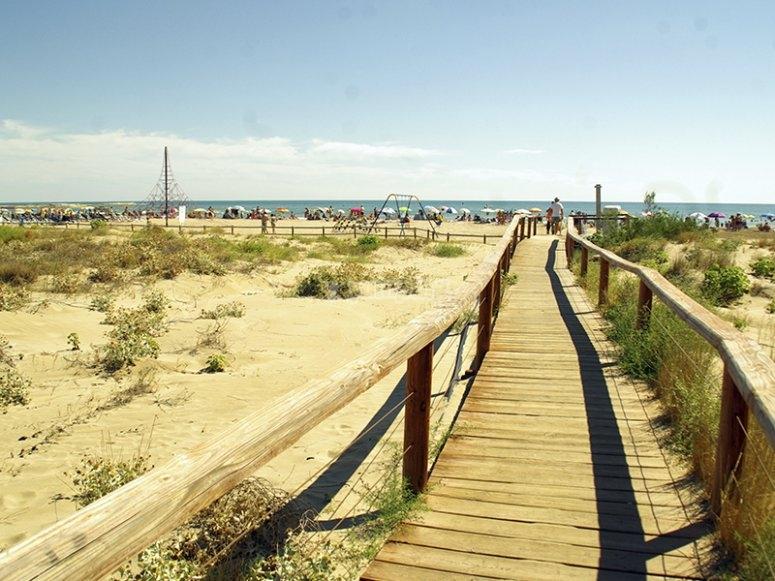 Vistas de la Playa de Carregador