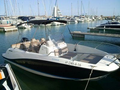 Quicksilver 505  Boat Rental in Alcocéber, 4 h