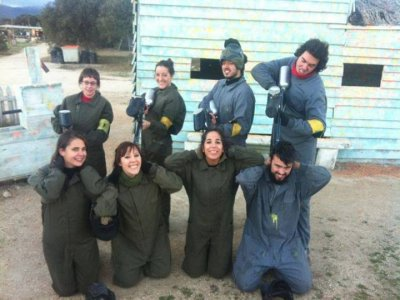 Paintball notturno in Medium Collado e 100 palline