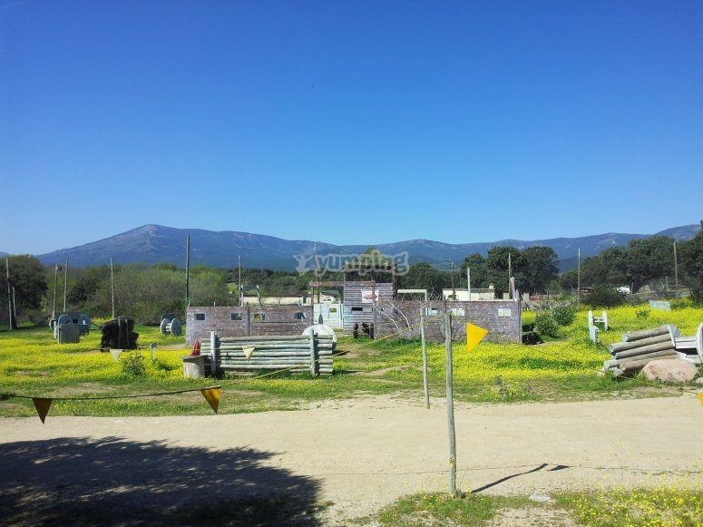 Instalaciones de paintball
