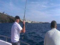 Pescando en Lanzarote