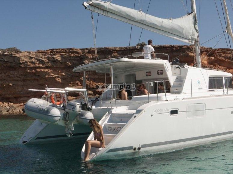 Alquiler exclusivo de barco