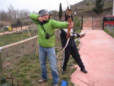 Try Archery in enguídanos, 1-1.5hrs