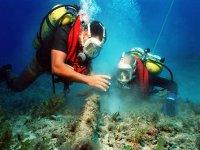 Conociendo todos los rincones marinos