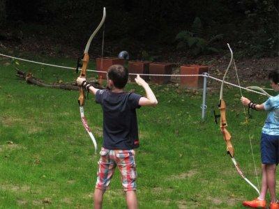 Iniziazione al tiro con l'arco a Llanes 1 h.