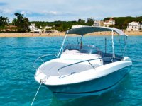 Boat rental without captain in Palamós 8 hours