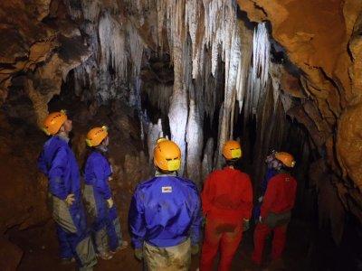 Espeleología Cueva de Los Chorros Riopar
