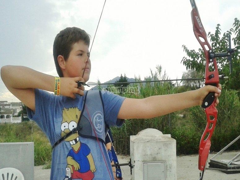 Lanzando la flecha
