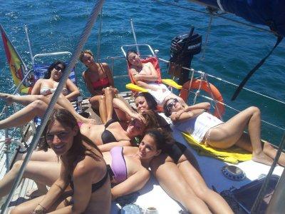 乘船游览单身派对,马拉加4小时