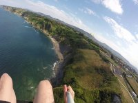 Views from the paraglider