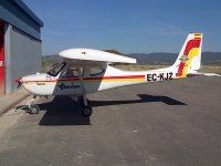 Avioneta en Beas del Segura