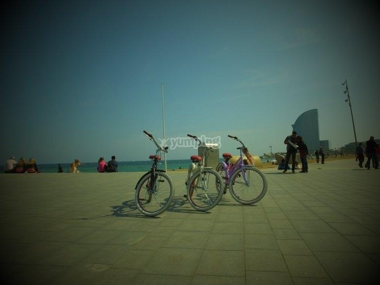 Bicis en Barcelona
