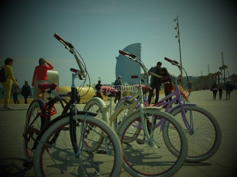 在巴塞罗那租一辆自行车