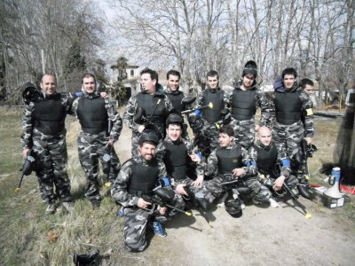 F430 Karting Salamanca Paintball