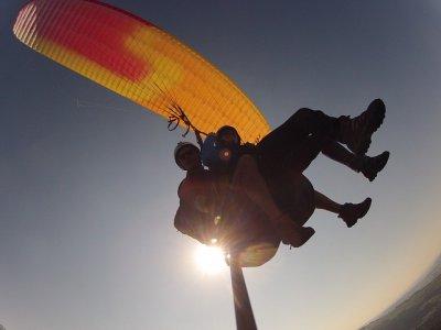Tandem paragliding flight in Tarragona
