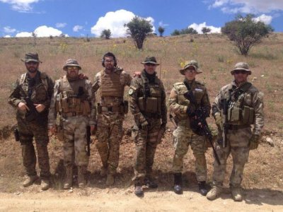 Bachelor party with airsoft and BBQ in El Molar