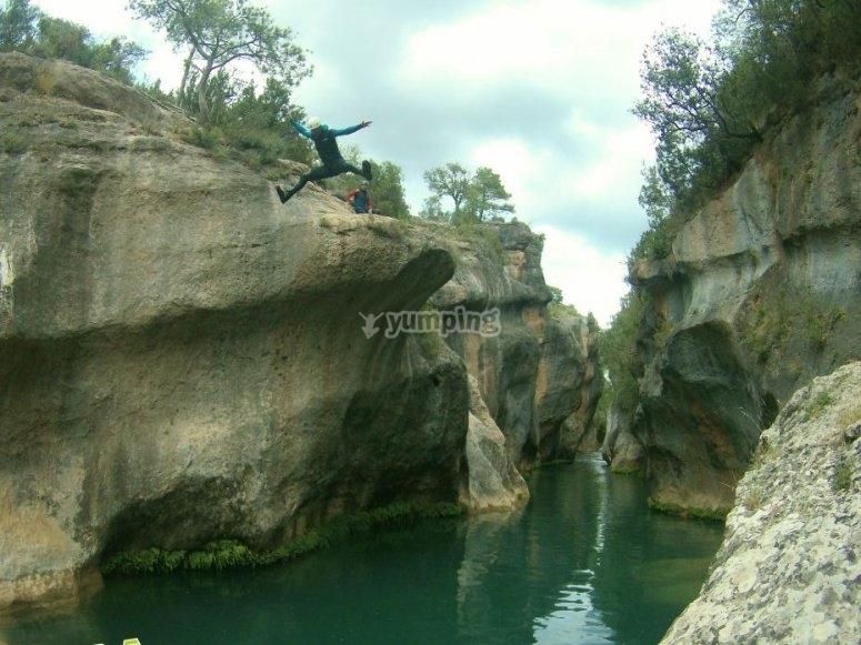 Espectacular salto