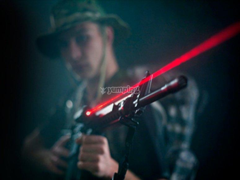 Combattimento laser