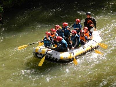 Descenso de rafting en el Alto Ebro
