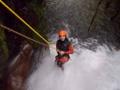Canyoning Medium Difficulty and picinic Aján river
