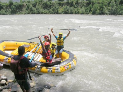 Descenso de rafting en el río Ulla, 2-3 horas
