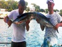 Buenos resultados en el dia de pesca