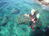 Experiencia de coasteering